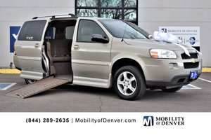 Used Wheelchair Van For Sale: 2008 Chevrolet Uplander S Wheelchair Accessible Van For Sale with a Eldorado Amerivan Power Side Entry on it. VIN: 1GBDV13WX8D124973