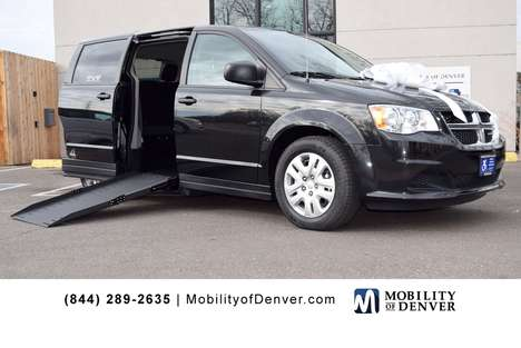 New Wheelchair Van For Sale: 2019 Dodge Grand Caravan SE Wheelchair Accessible Van For Sale with a VMI Apex Power Side Entry on it. VIN: 2C7WDGBG9KR779850
