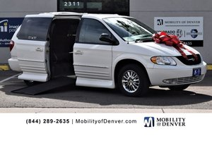 Used Wheelchair Van For Sale: 2003 Chrysler Town & Country S Wheelchair Accessible Van For Sale with a VMI NorthStar, Full Lowered Floor, Power Side Entry on it. VIN: 2C8GP64L73R275701