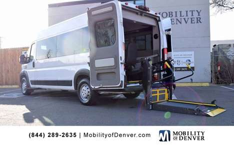 Used Wheelchair Van For Sale: 2017 Ram Promaster S Wheelchair Accessible Van For Sale with a Braun Power Lift Rear Entry on it. VIN: 3C6URVUGXHE544561