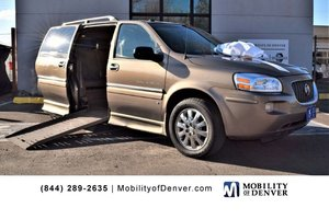 Used Wheelchair Van For Sale: 2006 Buick Terraza S Wheelchair Accessible Van For Sale with a Braun Entervan Uplander on it. VIN: 4GLDV13156D202409