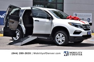 Used Wheelchair Van For Sale: 2018 Honda Pilot S Wheelchair Accessible Van For Sale with a VMI NorthStar E Manual Side Entry on it. VIN: 5FNYF5H18JB016350