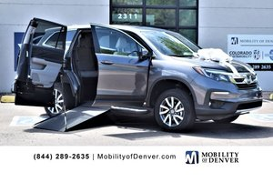 New Wheelchair Van For Sale: 2019 Honda Pilot EX Wheelchair Accessible Van For Sale with a  on it. VIN: 5FNYF5H31KB005788