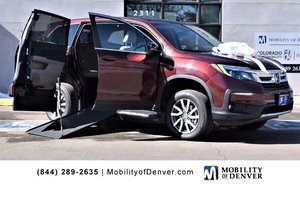 New Wheelchair Van For Sale: 2019 Honda Pilot EX Wheelchair Accessible Van For Sale with a  on it. VIN: 5FNYF5H34KB005333