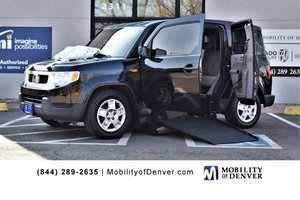 Used Wheelchair Van For Sale: 2010 Honda Element S Wheelchair Accessible Van For Sale with a Freedom Motors Power Side Entry on it. VIN: 5J6YH1H3XAL002381