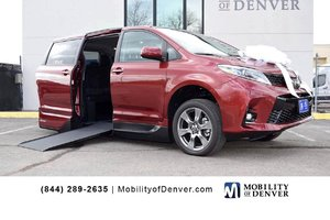 New Wheelchair Van For Sale: 2018 Toyota Sienna SE Wheelchair Accessible Van For Sale with a  on it. VIN: 5TDXZ3DC2JS928143