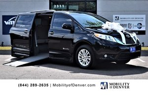 Used Wheelchair Van For Sale: 2015 Toyota Sienna S Wheelchair Accessible Van For Sale with a BraunAbility Rampvan Power Side Entry on it. VIN: 5TDYK3DC8FS538390