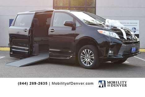 Used Wheelchair Van For Sale: 2020 Toyota Sienna LE Wheelchair Accessible Van For Sale with a VMI NorthStar Power Side Entry on it. VIN: 5TDYZ3DC5LS027937