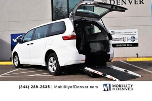 Used Wheelchair Van For Sale: 2017 Toyota Sienna  Wheelchair Accessible Van For Sale with a  on it. VIN: 5TDZZ3DC4HS876923