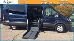 New Wheelchair Van For Sale: 2017 Ford Transit LT Wheelchair Accessible Van For Sale with a  on it. VIN: 1FBAX2CG4HKB42246