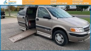 Used Wheelchair Van For Sale: 2004 Chevrolet Venture LT Wheelchair Accessible Van For Sale with a Eldorado National Amerivan Amerivan 10 on it. VIN: 1GNDX03E64D248540