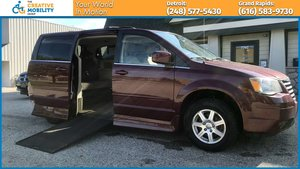 Used Wheelchair Van For Sale: 2008 Chrysler Town & Country Touring Wheelchair Accessible Van For Sale with a Rollx Vans Rollx In Floor Chrysler on it. VIN: 2A8HR54P98R671285