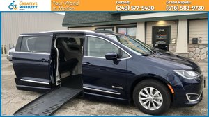 Used Wheelchair Van For Sale: 2018 Chrysler Pacifica L Wheelchair Accessible Van For Sale with a BraunAbility Chrysler Pacifica Foldout on it. VIN: 2C4RC1BG6JR305752