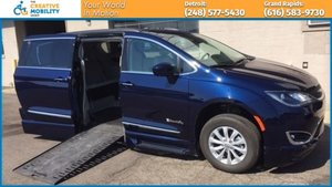 Used Wheelchair Van For Sale: 2017 Chrysler Pacifica L Wheelchair Accessible Van For Sale with a BraunAbility Chrysler Pacifica Infloor on it. VIN: 2C4RC1BGXHR821400