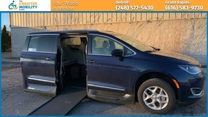 Used Wheelchair Van For Sale: 2017 Chrysler Pacifica S Wheelchair Accessible Van For Sale with a VMI Chrysler Pacifica Northstar Access360 by VMI on it. VIN: 2C4RC1EGXHR803460