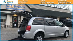 Used Wheelchair Van For Sale: 2011 Dodge Grand Caravan  Wheelchair Accessible Van For Sale with a BraunAbility Dodge Manual Rear Entry on it. VIN: 2D4RN3DG9BR755712