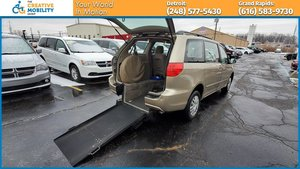Used Wheelchair Van For Sale: 2008 Toyota Sienna S Wheelchair Accessible Van For Sale with a Freedom Motors Manual Toyota Rear Entry on it. VIN: 5TDZK23C38S128986