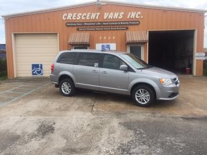 Used Wheelchair Van For Sale: 2019 Dodge Grand Caravan SXT Wheelchair Accessible Van For Sale with a Vision Rear Entry M. Ramp on it. VIN: 2C7WDGCG9KR566458
