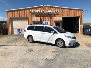 Used Wheelchair Van For Sale: 2013 Toyota Sienna XLE Wheelchair Accessible Van For Sale with a Vision Rear Entry M. Ramp on it. VIN: 5TDYK3DC2DS399418