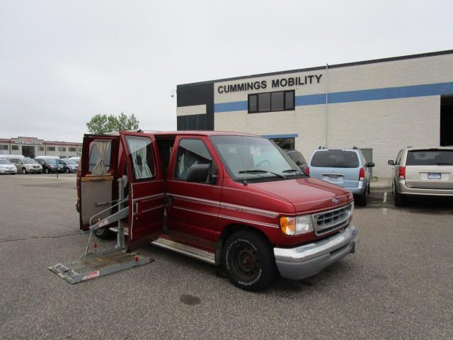 1997 ford econoline e150 wheelchair van for sale full size albertville mn vin. Black Bedroom Furniture Sets. Home Design Ideas