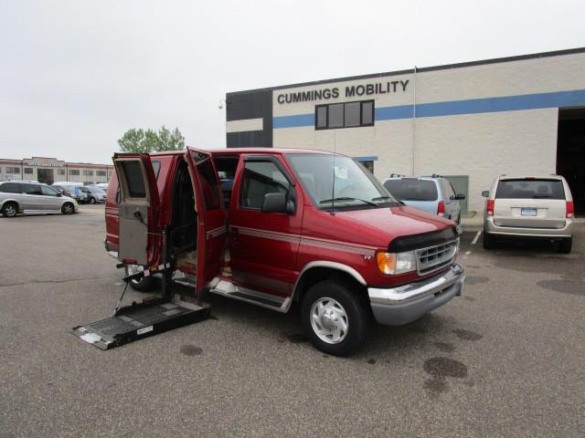 2002 ford econoline e250 wheelchair van for sale full size albertville mn vin. Black Bedroom Furniture Sets. Home Design Ideas