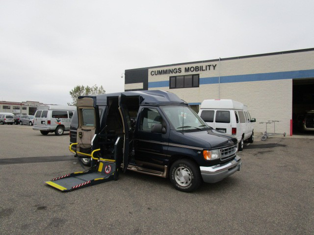 2002 ford e 150 wheelchair van for sale full size. Black Bedroom Furniture Sets. Home Design Ideas