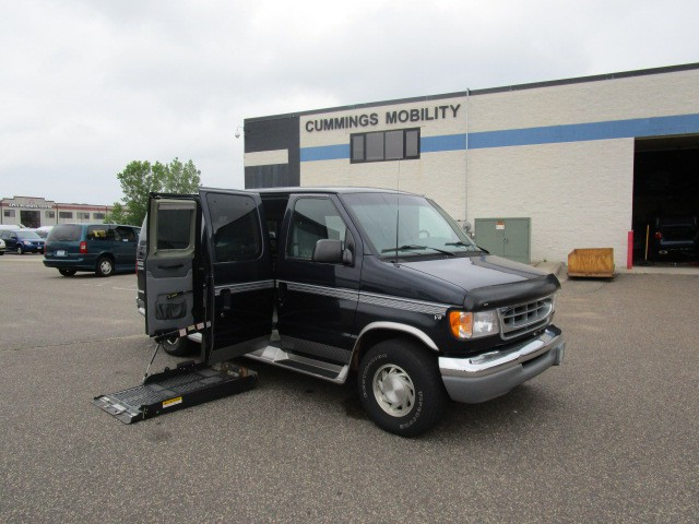 2000 ford e 150 wheelchair van for sale full size ada. Black Bedroom Furniture Sets. Home Design Ideas