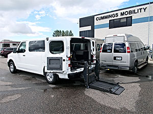 Used Wheelchair Van For Sale: 2017 Nissan Nv Cargo  Wheelchair Accessible Van For Sale with a Non Branded Wheelchair Lift & Tiedowns on it. VIN: 1N6BF0KY6HN800694