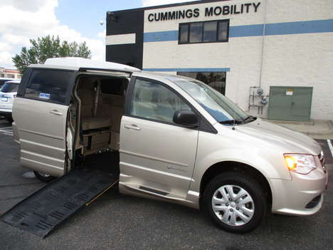 Used Wheelchair Van For Sale: 2016 Dodge Grand Caravan S Wheelchair Accessible Van For Sale with a Commercial Vans Dodge ADA Entervan on it. VIN: 2C4RDGBG0GR136126