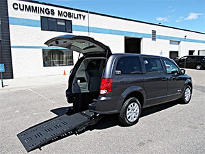 New Wheelchair Van For Sale: 2017 Dodge Grand Caravan SE Wheelchair Accessible Van For Sale with a BraunAbility BraunAbility Dodge Manual Rear Entry on it. VIN: 2C4RDGBG1HR725543