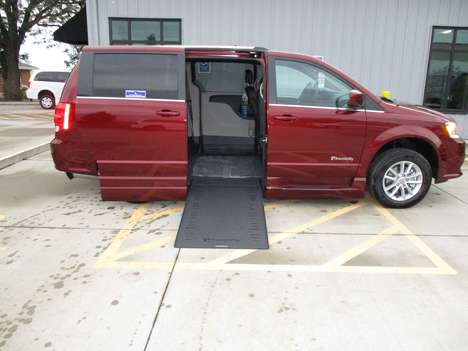 New Wheelchair Van For Sale: 2020 Dodge Grand Caravan SXT Wheelchair Accessible Van For Sale with a BraunAbility Dodge Entervan Xi Infloor on it. VIN: 2C7WDGCG6LR214388