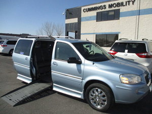 Used Wheelchair Van For Sale: 2007 Buick Terraza L Wheelchair Accessible Van For Sale with a BraunAbility Buick Entervan on it. VIN: 4GLDV13147D145492