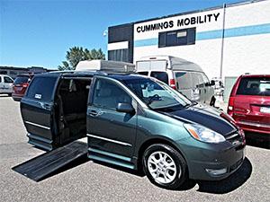 IMS Toyota Wheelchair Van Conversion