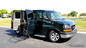 Used Wheelchair Van For Sale: 2012 GMC Savana  Wheelchair Accessible Van For Sale with a  on it. VIN: 1GKS8CF42C1161644