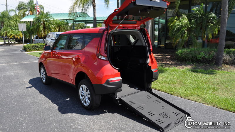Used Wheelchair Van For Sale: 2020 Kia Soul S Wheelchair Accessible Van For Sale with a Freedom Motors Kia Soul Wheelchair Accessible on it. VIN: KNDJ23AU7L7006410