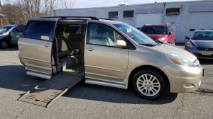Used Wheelchair Van For Sale: 2007 Toyota Sienna XLE Limited 7-Passenger  Wheelchair Accessible Van For Sale with a BraunAbility® - Toyota Rampvan XT on it. VIN: 5TDZK22C07S071453