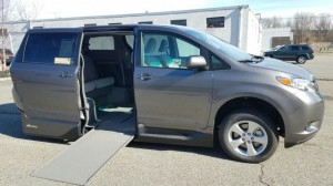 New Wheelchair Van For Sale: 2017 Toyota Sienna LE 7-Passenger Mobility  Wheelchair Accessible Van For Sale with a VMI - Toyota NorthstarAccess360 on it. VIN: 5TDKZ3DC6HS807846