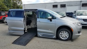 New Wheelchair Van For Sale: 2017 Chrysler Pacifica Touring Plus  Wheelchair Accessible Van For Sale with a BraunAbility - BraunAbility Pacifica Foldout XT on it. VIN: 2C4RC1BG8HR851236
