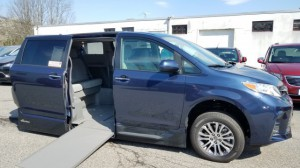 New Wheelchair Van For Sale: 2018 Toyota Sienna XLE Wheelchair Accessible Van For Sale with a VMI - Toyota NorthstarAccess360 on it. VIN: 5TDYZ3DC3JS909900