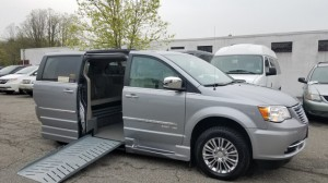 Used Wheelchair Van For Sale: 2013 Chrysler Town & Country Touring Wheelchair Accessible Van For Sale with a Eldorado National Amerivan - Dodge & Chrysler Amerivan on it. VIN: 2C7WC1CG5DR781421