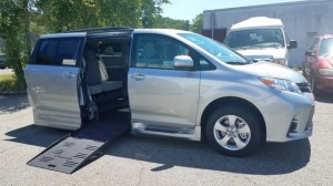 ? Wheelchair Van For Sale: 2020 Toyota Sienna LE Wheelchair Accessible Van For Sale with a BraunAbility - Toyota Rampvan XL on it. VIN: 5TDKZ3DC5LS021030
