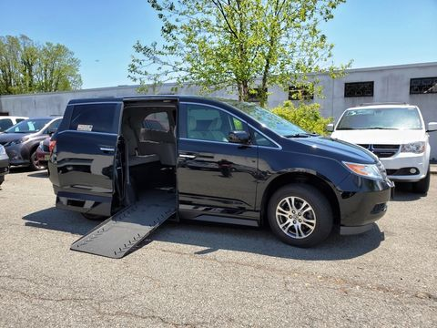 Used Wheelchair Van For Sale: 2012 Honda Odyssey EX Wheelchair Accessible Van For Sale with a VMI - Honda Summit on it. VIN: 5FNRL5H44CB022995