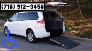 Used Wheelchair Van For Sale: 2014 Toyota Sienna L 7-Passenger  Wheelchair Accessible Van For Sale with a BraunAbility - Toyota Power Rear Entry on it. VIN: 5TDZK3DC9ES465131