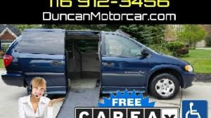 Wheelchair Van For Sale 2003 Dodge Grand Caravan SE Accessible