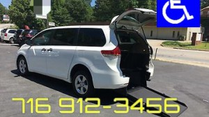 Used Wheelchair Van For Sale: 2014 Toyota Sienna L 7-Passenger  Wheelchair Accessible Van For Sale with a BraunAbility - Toyota Manual Rear Entry on it. VIN: 5TDZK3DC9ES465131