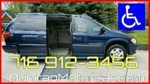 ? Wheelchair Van For Sale: 2003 Dodge Grand Caravan SE  Wheelchair Accessible Van For Sale with a BraunAbility - Dodge Entervan II on it. VIN: 1D4GP24393B158178