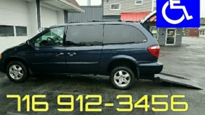 Used Wheelchair Van For Sale: 2007 Dodge Grand Caravan SXT  Wheelchair Accessible Van For Sale with a BraunAbility - Dodge Manual Rear Entry on it. VIN: 2D4GP44L47R270230