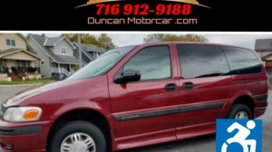 Used Wheelchair Van For Sale: 2005 Chevrolet Venture  Wheelchair Accessible Van For Sale with a BraunAbility - Chevrolet Entervan on it. VIN: 1GBDV13E15D135976