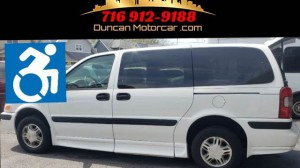 Used Wheelchair Van For Sale: 2004 Chevrolet Venture  Wheelchair Accessible Van For Sale with a BraunAbility - Chevrolet Entervan on it. VIN: 1GBDX23E14D221481