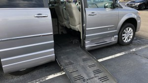 Used Wheelchair Van For Sale: 2016 Chrysler Town & Country Platinum Wheelchair Accessible Van For Sale with a BraunAbility - Chrysler Companion Van on it. VIN: 2C4RC1GG8GR271430